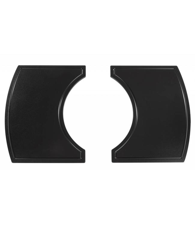 PrimoGrill Kunststof zijtafels voor Cart Ovaal Large / XL