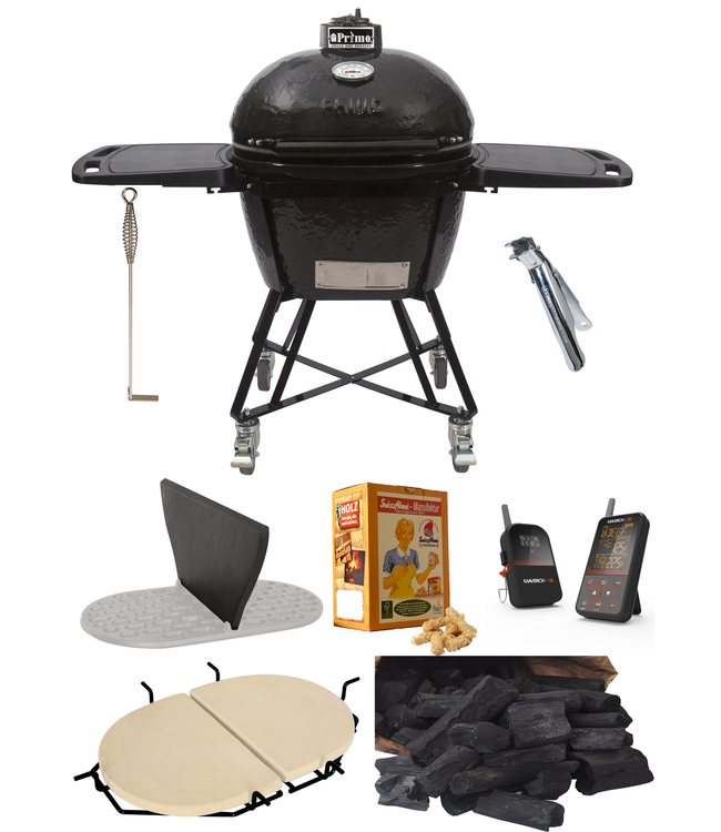 PrimoGrill Oval All-in-One 400 (XL) compleet