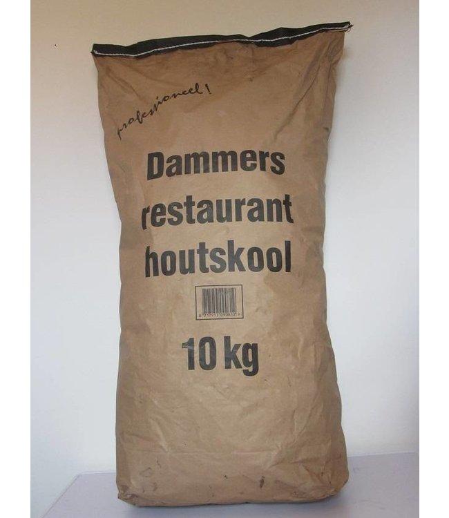 Dammers Steakhouse houtskool zak 10Kg Afhaalprijs
