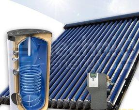 Zonneboilers met tapwaterondersteuning van 160 liter t/m 200 liter