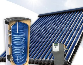 Zonneboilercombi's met verwarmings- en tapwaterondersteuning tot 500 liter