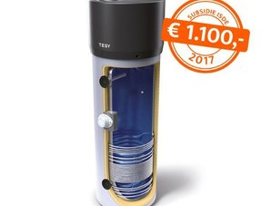 Warmtepomp met tapwater boilervat