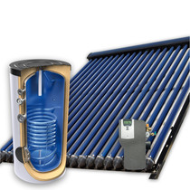 200L zonneboiler set (24HP) met tapwaterondersteuning