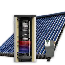 500L hygiëne zonneboiler set (60HP) met (vloer)verwarming- en tapwaterondersteuning