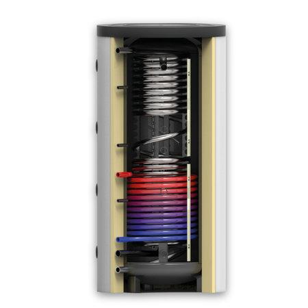 TechniQ Energy 800L hygiëne zonneboiler set (90HP) met (vloer)verwarming- en tapwaterondersteuning