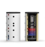 Thermic Energy Buffervat 1000 liter Multi Energy met 1 wisselaar - Made in Germany