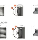 Sonniger Heater (5-70 kW)  3 standen luchtverwarmers