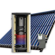 300L hygiëne zonneboiler set (2x18 HP) met (vloer)verwarming- en tapwaterondersteuning