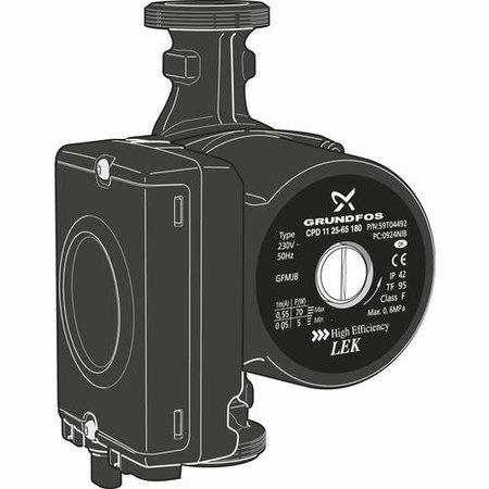 Nibe CPD11-25/65 circulatiepomp modulerend 230V