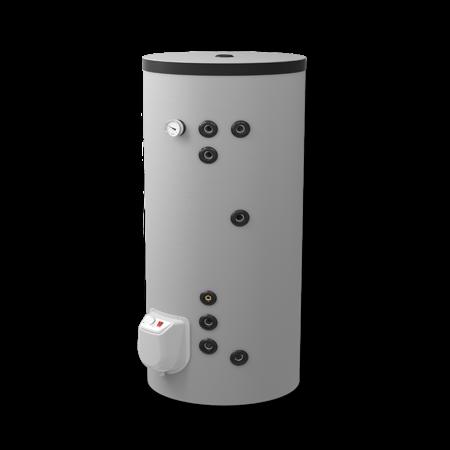 Boilervat Eldom 200 liter, indirect gestookt, met 2 warmtewisselaars
