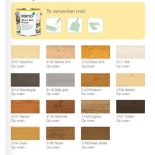 Osmo Decor wash Transparent 3111,3164 etc. (click here for color and content)
