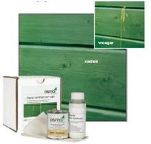 Resin replacement set