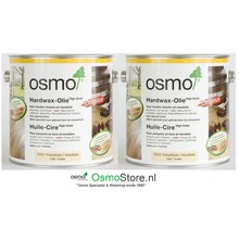 Osmo 3062 2X 2,5Ltr Hardwax MAT NOW SUPER OFFER !!
