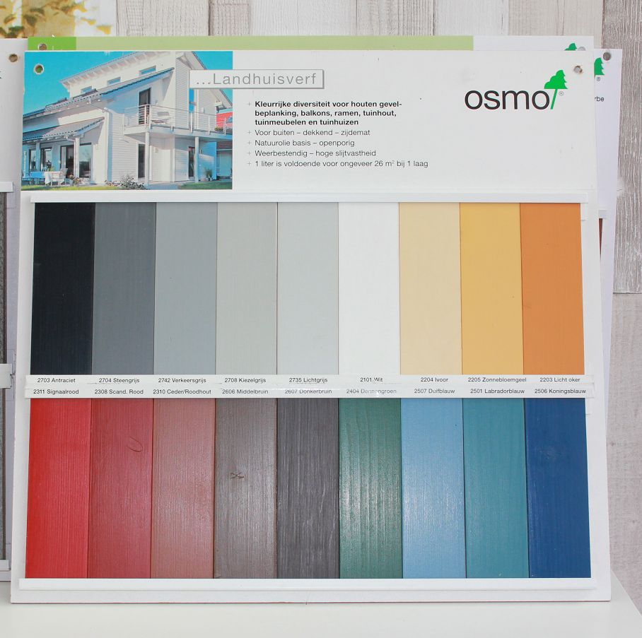 Country Colour Repainting Without Sanding Osmostore Com
