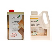 1 Osmo Maintenance wax 3087 + 1 Wisch fix ACTION