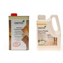 Osmo 1 Osmo Maintenance wax 3087 + 1 Wisch fix ACTION