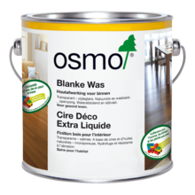 Osmo 1101 Blanke was (Klarwachs) 1101 (For exotic woods)