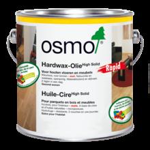 Osmo 3232 Hardwax olie Polyx Rapid Zijdemat (klik hier voor inhoudsopties) (Sneldrogend)