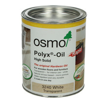 3240 Hardwax oil WHITE Polyx Rapid (Quick drying)