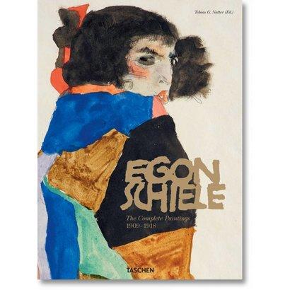 Egon Schiele Complete Paintings, 1908–1918 Taschen (XL)