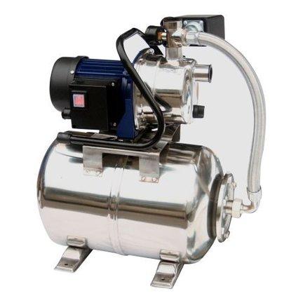Een hydrofoorpomp is er elektronisch en klassiek met een expansievat