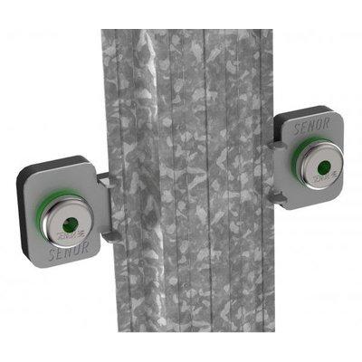 Geluidswerende  voorzetwand omega master profiel 90/50 (30 meter per bundel).