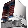 No-decibel blauwe plafonddemper SE 6050-A/M8 DS