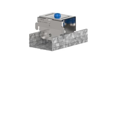 No-Decibel blauwe plafond demper. SE 4360/60A/DS M6. Geschikt voor dubbele 12,5 mm gipsplaat