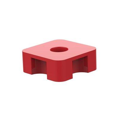 No-Decibel vloer demper rood
