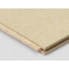 Cement gebonden vezelplaat, 18 mm dik.