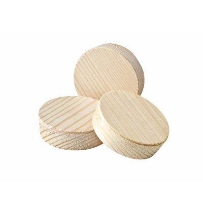 1 stuk houtplug 62/64 mm