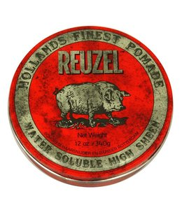 Reuzel Water Soluble High Sheen Pomade Red 340g