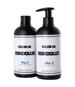 Color Us Bondolux No.1 500ml & No.2 500ml Salon Kit