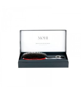 MaxPro Mohi Bristle & Nylon Spa Brush - Platinium Edition