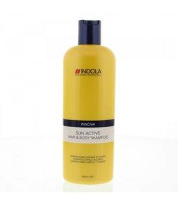 Indola Sun Active Hair & Body Shampoo 300ml