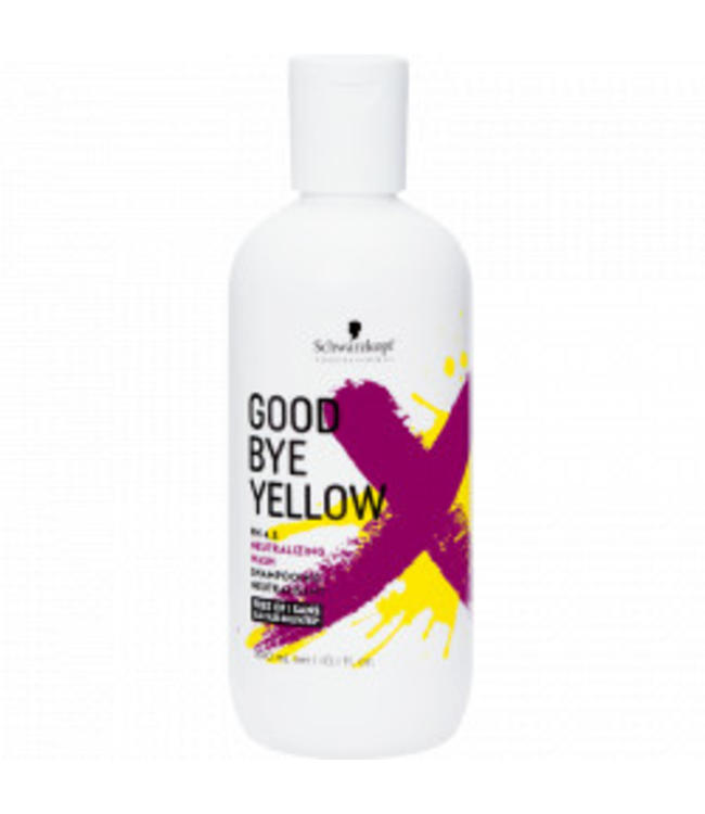 Schwarzkopf Good Bye Yellow PH 4.5 Neutralizing Wash Shampooing Neutralisant 300ml