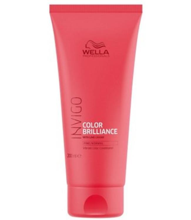 Wella Invigo Color Brilliance Fine Normal Vibrant Color Conditioner 200ml