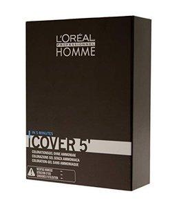 L'Oréal Homme Cover 5' 4 Mittelbraun 3x50ml