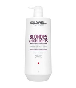Goldwell Blondes & Highlights Anti-Yellow Shampoo 1000ml