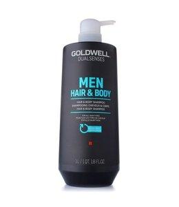 Goldwell Men Hair & Body Shampoo 1000ml
