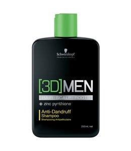 Schwarzkopf 3D Men Anti Dandruff Shampoo 250ml