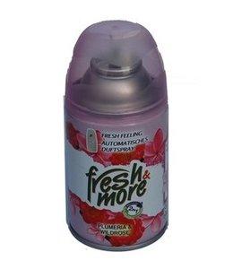 Fresh & More Luchtverfrisser Plumeria & Wildrose 250ml
