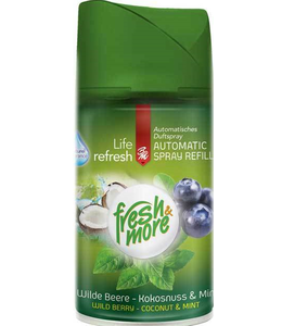 Fresh & More Luchtverfrisser Wild Berry Coconut & Mint 250ml