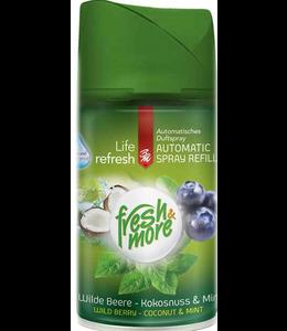 Fresh & More Luchtverfrisser Wild Berry Coconut & Mint 250ml