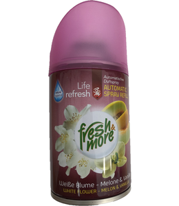 Fresh & More Luchtverfrisser White Flower Melon & Vanilla 250ml