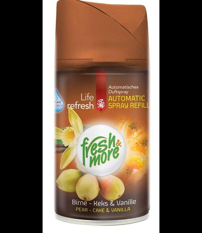 Fresh & More Luchtverfrisser Pear Cake & Vanilla 250ml