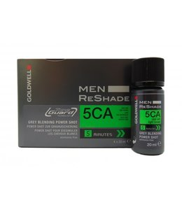 Goldwell Men Reshade Grey Blending Power Shot 5CA Cool Ash Light Brown 4x20ml