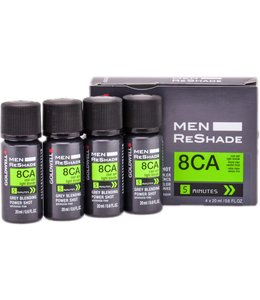 Goldwell Men Reshade Grey Blending Power Shot 8CA 4x20ml