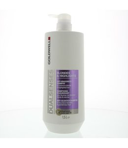 Goldwell DualSenses Blondes & Highlights Anti Brassiness Shampoo 1500ml