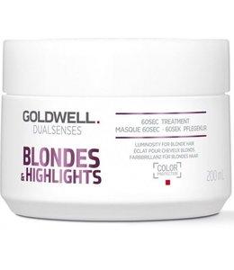 Goldwell Dualsenses Blondes Treatment 60 sec. 200ml